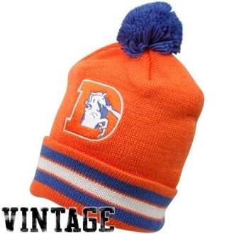 Denver Broncos Beanies : Mitchell and Ness Beanies