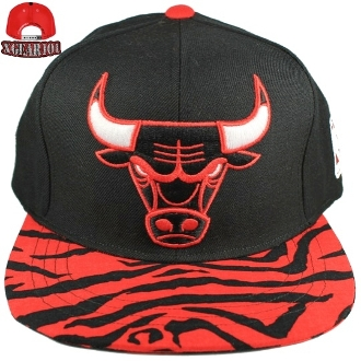 Custom Brims : Custom Brim Chicago Bulls Strapback Hat