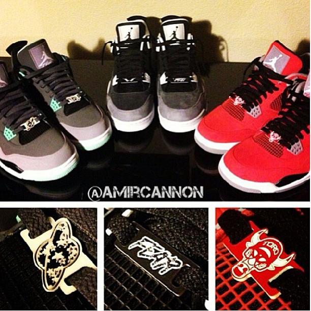 Jordan Sneaker Lace Locks : Shoe Lace Lock