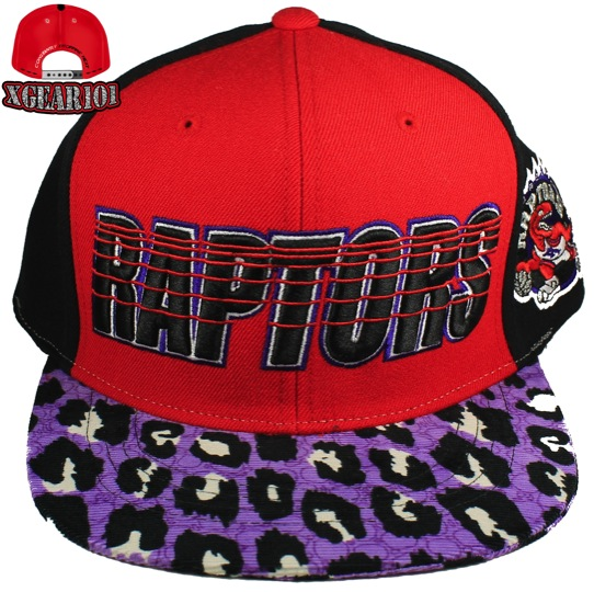 Toronto Raptors Custom Brim Strapback Hat : Custom Brims