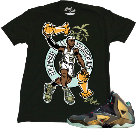 lebron 11 �kings pride� sneaker tees to match shoes � x