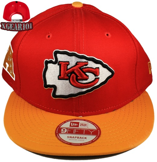 Kansas City Chiefs Snapback Hats : New Era 9Fifty