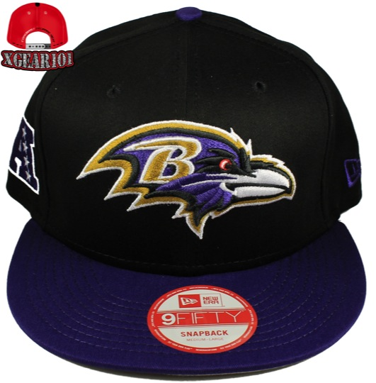 Baltimore Ravens Snapback Hats : New Era 9Fifty