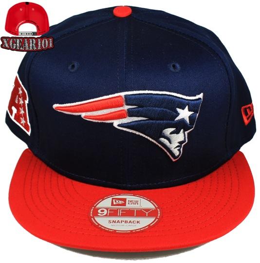New England Patriots Snapback Hats : New Era 9Fifty