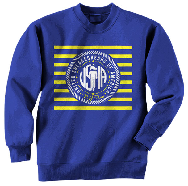 Sneaker Crewneck for the Jordan Retro 5 Laney Shoes