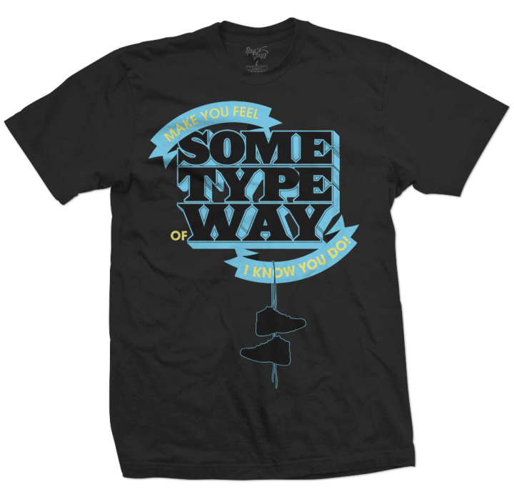 Jordan Sneaker T-Shirt for the Jordan Retro 11 Gamma Blue Shoes