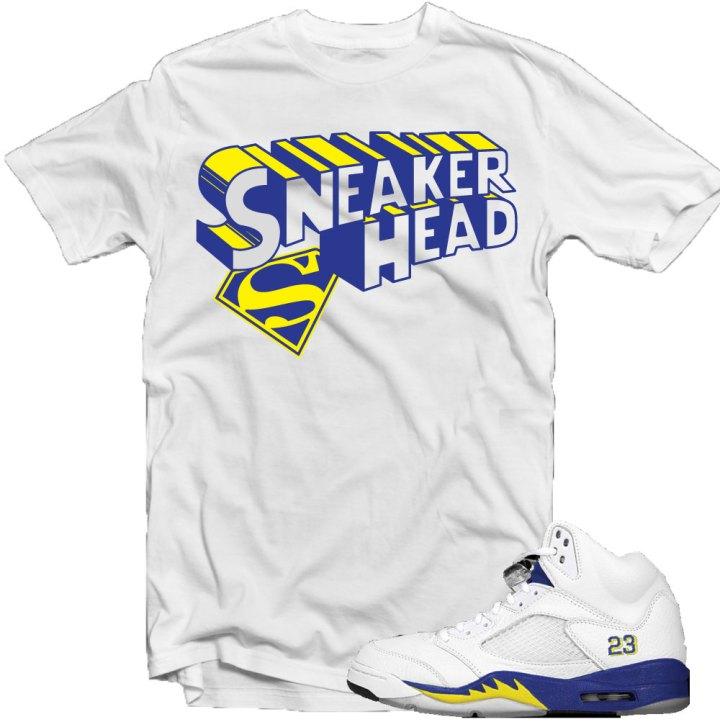 24bfaf9f7bb Jordan Retro 5 Laney Shoes : T-Shirt to Match – X Gear 101 Blog ...