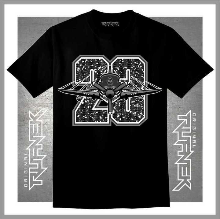 Jordan Retro 5 OREO T-shirt : Original Rufnek Clothing