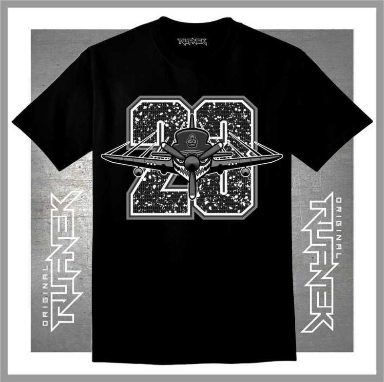 Jordan Retro 5 OREO T-shirt : Original Rufnek Clothing | X ...