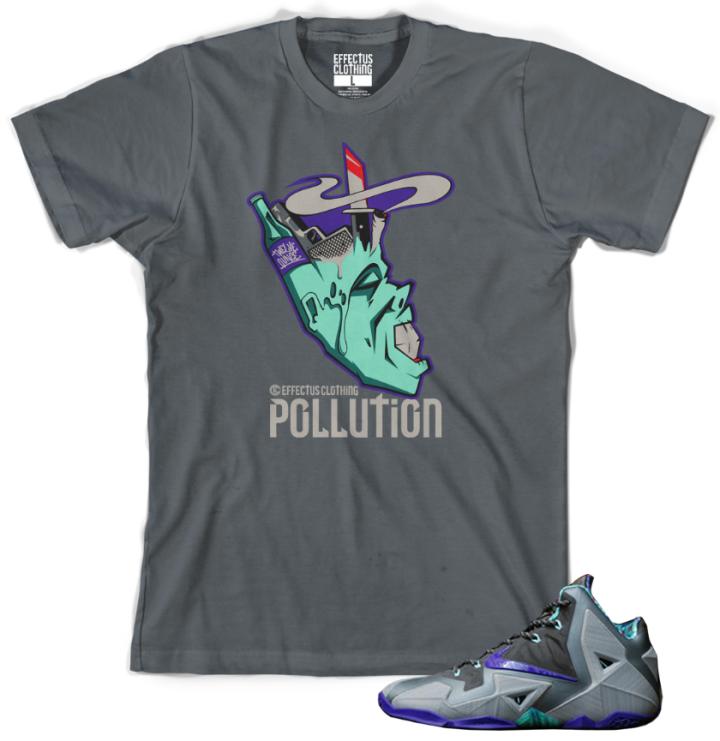 Lebron 11 Terracotta Shoes : Lebron Sneaker T-Shirt