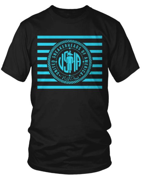 Jordan Retro 11 Gamma Blue Sneaker Shirt by NJ Drive Clothing