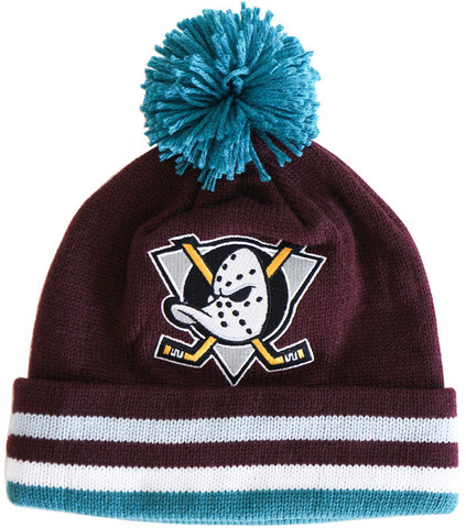 Anaheim Mighty Ducks Mitchell & Ness Beanie
