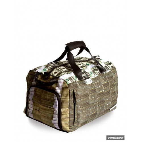 Money Sprayground Duffle Bag