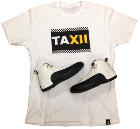 Jordan T-Shirt to match with the Jordan Retro 12 Taxi Shoes