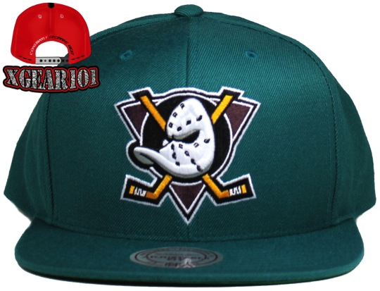 Anaheim Mighty Ducks Mitchell and Ness Snapback Hat