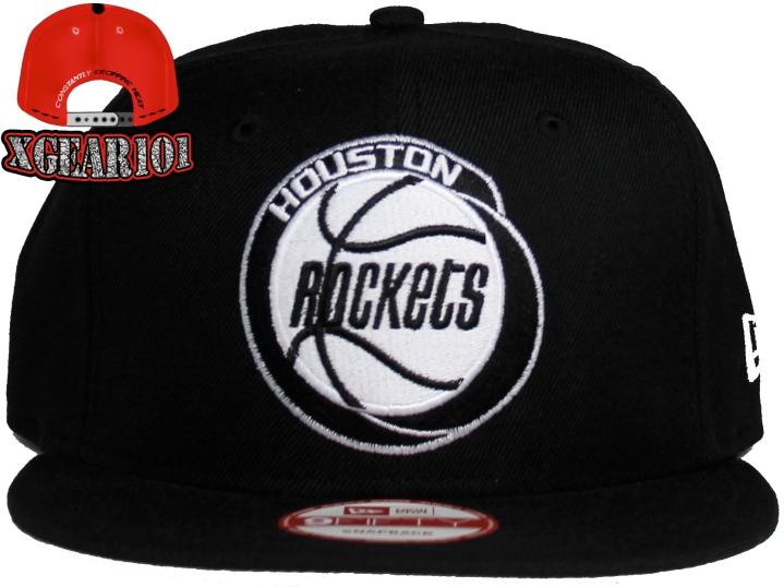 Houston Rockets Snapback Hat for the Jordan Retro 5 Oreo Shoes