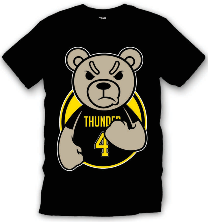 Sneaker Tee Shirt to match with the Jordan Retro 4 Thunder shoes