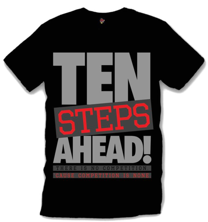 Jordan Retro 10 Infared Shoes: T-shirt to Match