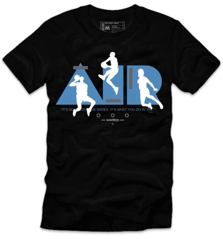 Air Jordan 3 Powder Blue Tee by Retro Kings Clothing