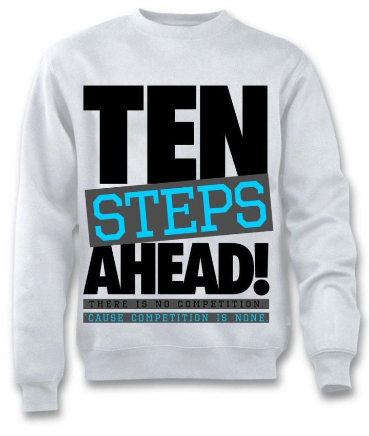Crew Neck sweater for the Powder Blue 10's