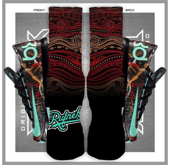 Custom Socks : Kevin Durant 6 Illusion