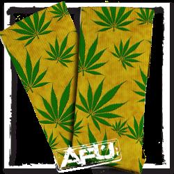 Gold Leaf AFU Wear Custom Socks