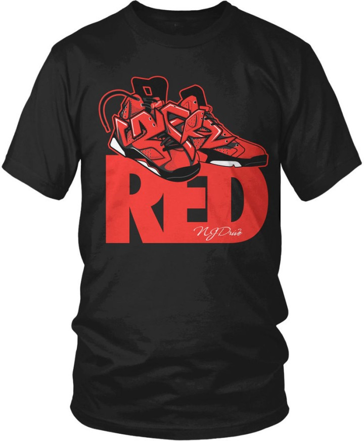 Sneaker Tee for the Jordan Infrared 6s Coming Valentines Weekend