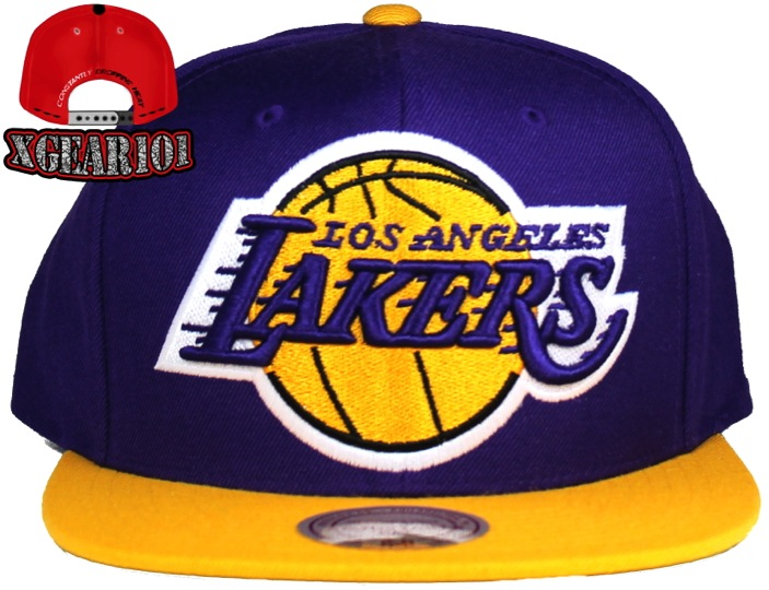 LA Lakers Michell and Ness Snapback hat
