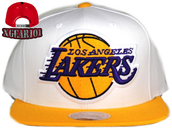Mitchell and Ness : Los Angeles Lakers SnapBack
