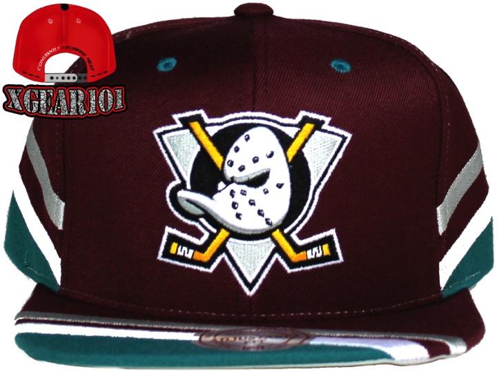 Anaheim Mighty Ducks Mitchell & Ness SnapBack