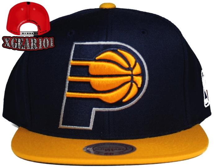 Indiana Pacers 2Tone XL Logo Snapback Hat