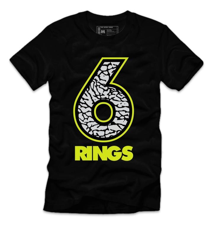 Jordan 6 Rings Sneaker Shirt