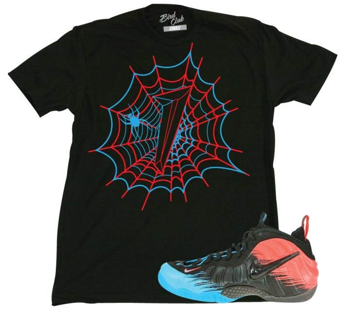 Spiderman Fomaposite Sneaker T-shirt