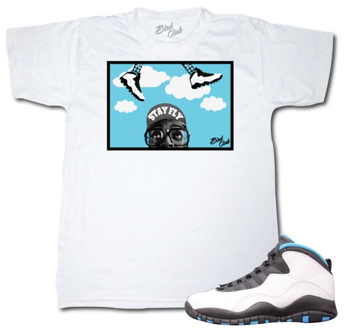 Matching Sneaker Shirt for Powder Blue 10s