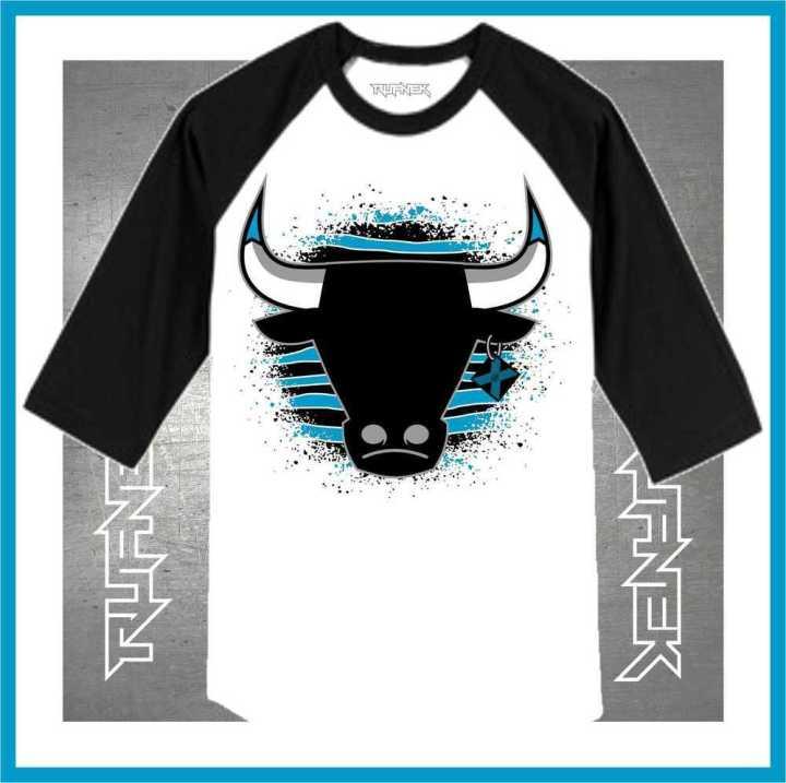 Jordan 10 Powder Blue Raglan Shirt : Powder Blue Shirts