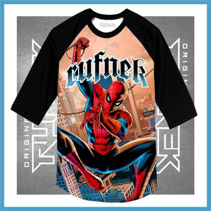 Sneaker Shirts for the Spiderman Foamposites Shoes
