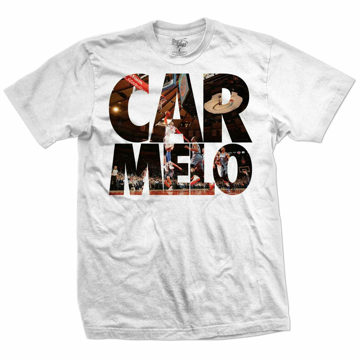 size 40 9cf65 915f0 Rays Jays Carmelo and Born and Raised Sneaker Tees – X Gear ...