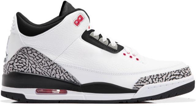 Nike Air Jordan Retro 3 Infrared Shoes Release Date