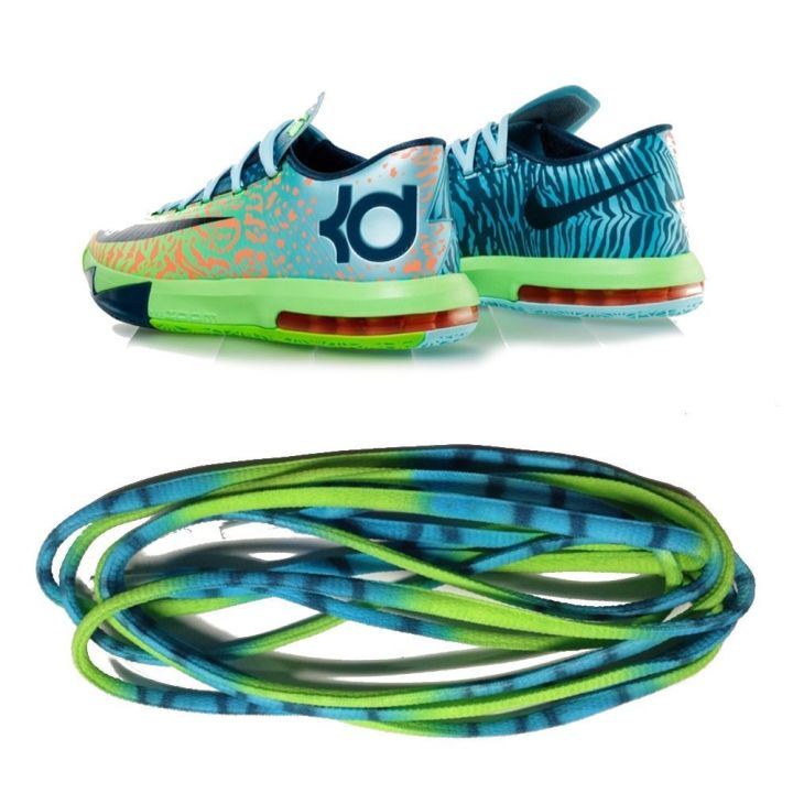 Kevin Durant 6 Liger Shoes LACED LOUDLY Shoe Laces