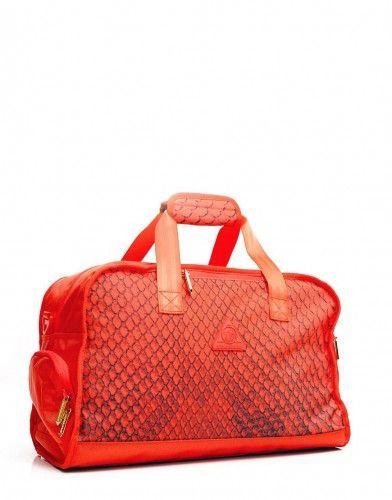 Sprayground Rython Yeezy 2 Red October Duffel Bag