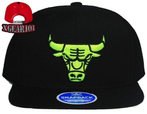 Adidas Chicago Bulls Volt Foamposite Snapback Hat