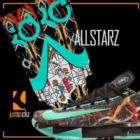 Just Sockz Custom Nike Elite Socks for The Kevin Durant 6 Gumbo
