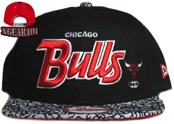 New Era Chicago Bulls New Era Jordan Retro 3 Infrared Snapback Hat