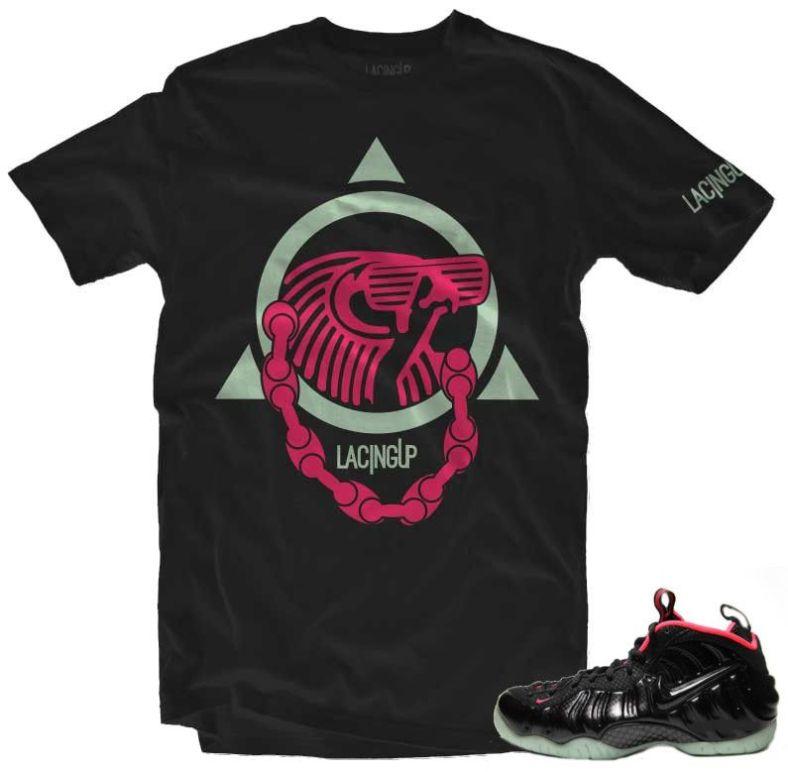 Lacing Up Yeezy Foamposite Sneaker T Shirt   X Gear 101 ... Yeezy Foams Shirt