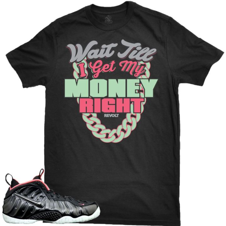 Revolt Apparel Sneaker Tee to match the Yeezy Foam Foamposite Shoes