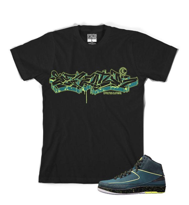 Jordan Retro 2 Nightshade Effectus Clothing Sneaker Tee