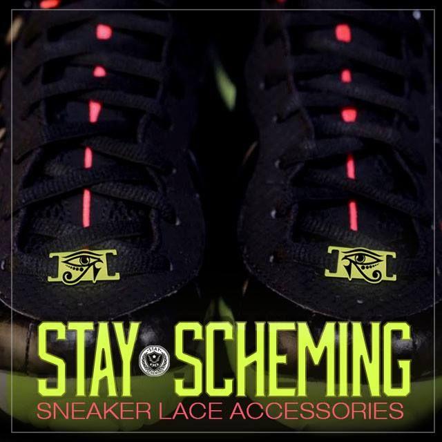 Stay Scheming Sneaker Lace Loud Locks to match Yeezy Foamposite