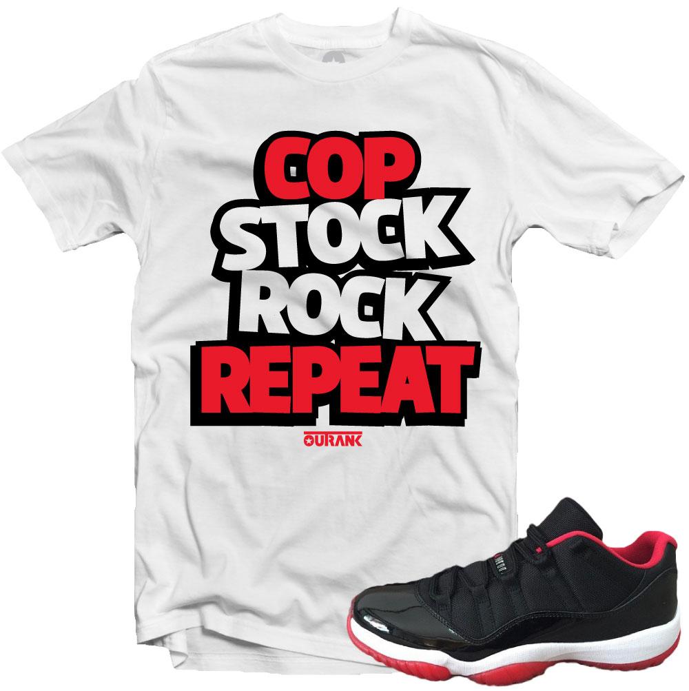 62cebe90a641ea Jordan 11 Low Bred Sneaker Match Tees – X Gear 101 Blog   Sneaker ...