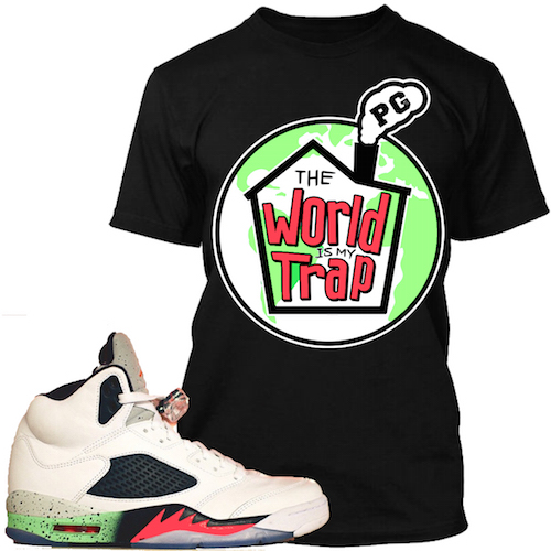 315b2e41828684 Space Jam 5s Sneaker Match Tees Shirts – X Gear 101 Blog   Sneaker ...