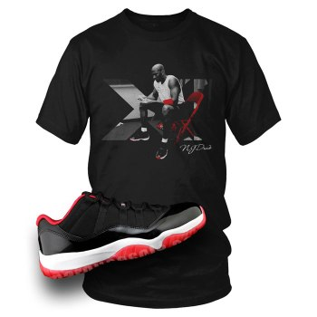 Bred 11 Low Shirts